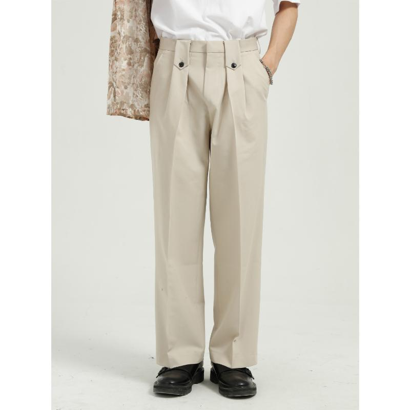 Herrenbekleidung - 2021 Frühlingsprodukt, koreanische Version Ins, lose und schlanke Hose
