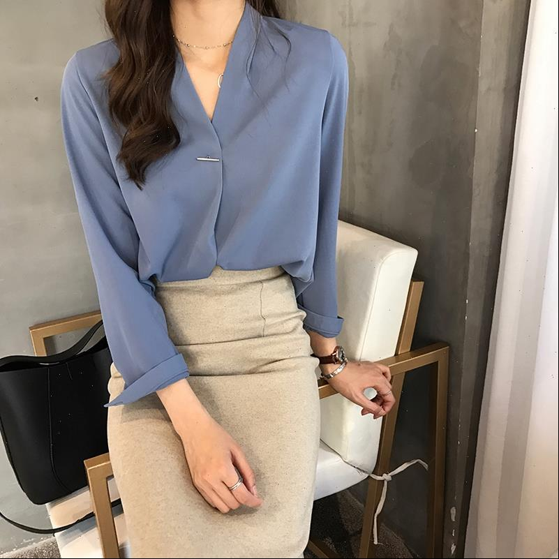 Loose Long Sleeved Model Chiffon Women Shirt Blouse, Red amp Green White Color
