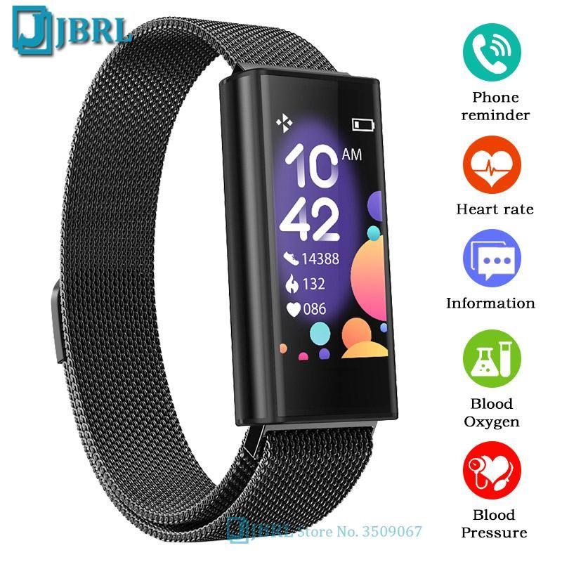 Temperatura digital relógio homens mulheres relógios de pulso ecg ios bluetooth wristwatch senhoras horas ip67 wristwatches impermeáveis