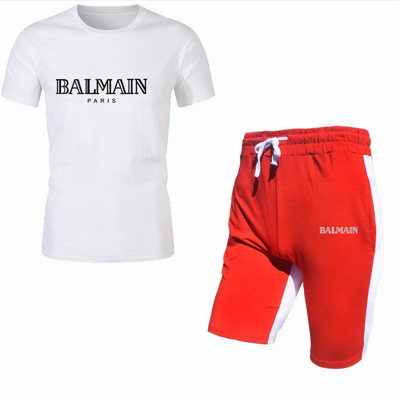 T-shirt décontracté à manches courtes à manches courtes en coton