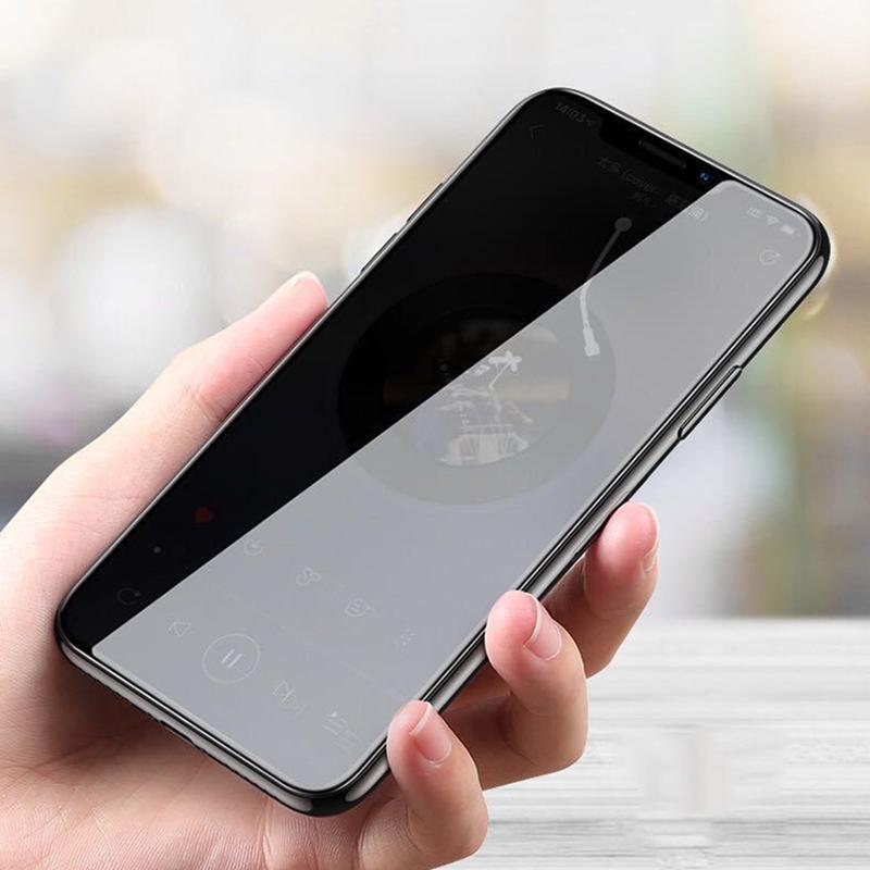 プライバシー強化ガラスプライベートスクリーンプロテクターフルガードフィルム爆発湾曲カバーカバーシールドiPhone 13 Pro最大12ミニ11 XS XR x 8 7 6 6 S SE