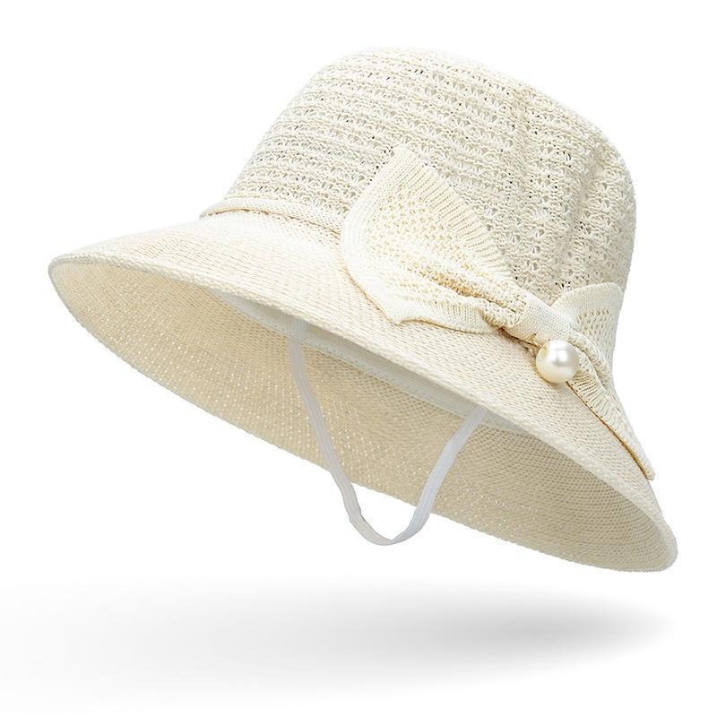 2021Big Inci Sunshade Şapka Rüzgar Geçirmez Halat Yaz Yay Ile Serin Bayanlar Açık Güneş Kremi Plaj Havzası Kap Geniş Brim Şapka
