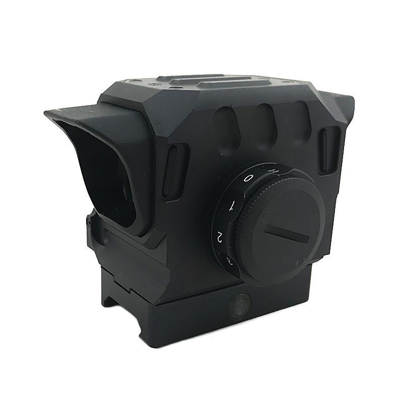Di taktische EG1 optische rote Punktgewehrbereich 1,5 moa holographischer Anblick für 20mm Schienenjagdbereich schwarz
