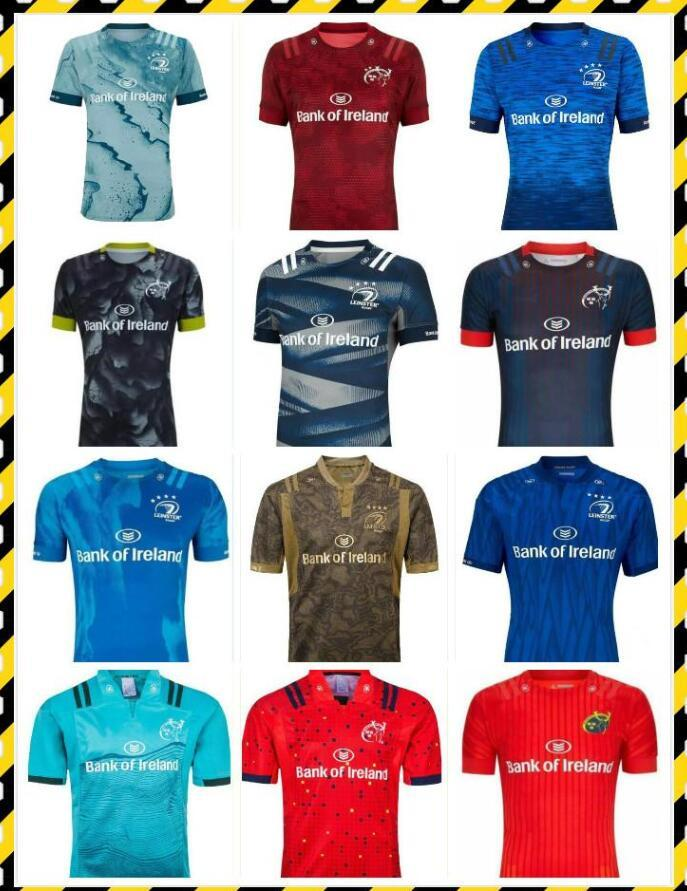 Leinster rugby jersey 20 21 Munster soccer jerseys 2021 home away men Rugby-Trikots size S-5XL