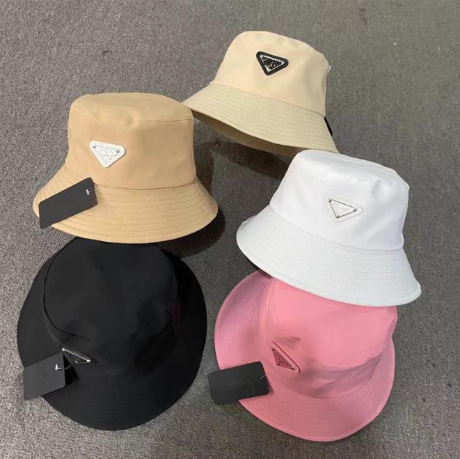 Chapéu de balde para mulheres acessórios de cabelo moda clássico designer menina nylon homem outono primavera pescador chapéus de sol