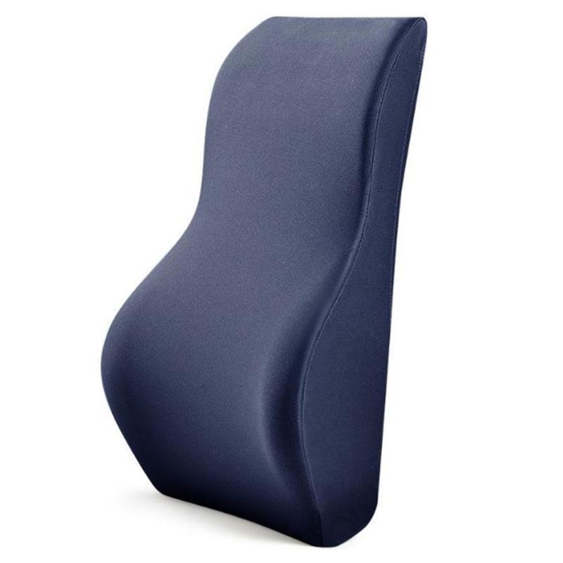 POSTURE PAD CON MEMORIA Schiuma per alleviare il dolore lombare ergonomico supporto lombare cuscino per auto