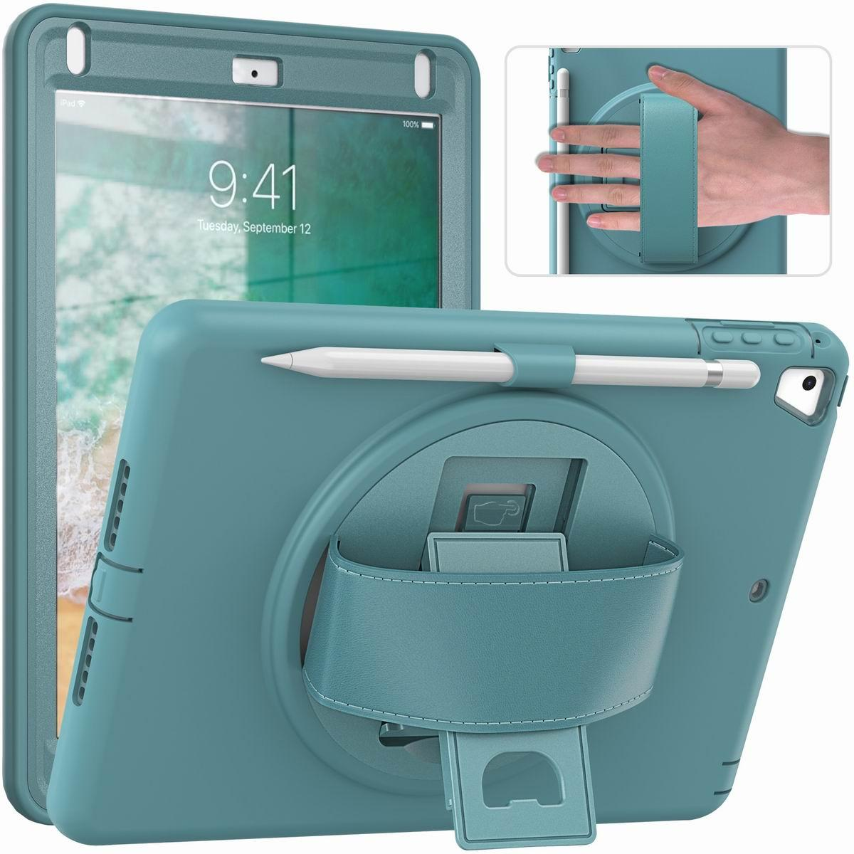 1pcs Heavy Duty TPU iPad Case For 7th Generation 9.7 12.9 6th 10.5 Air 3 Pro 11 Mini3 4 5 6 Smart Cover