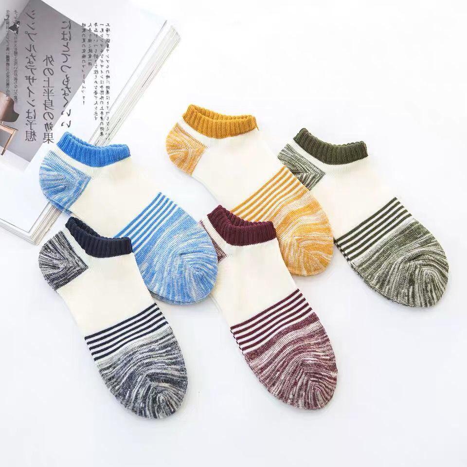 Yaz Moda Erkekler Kısa Çorap Çorap Erkekler Çorap Erkekler Ve Kadınlar Bir Boyutu