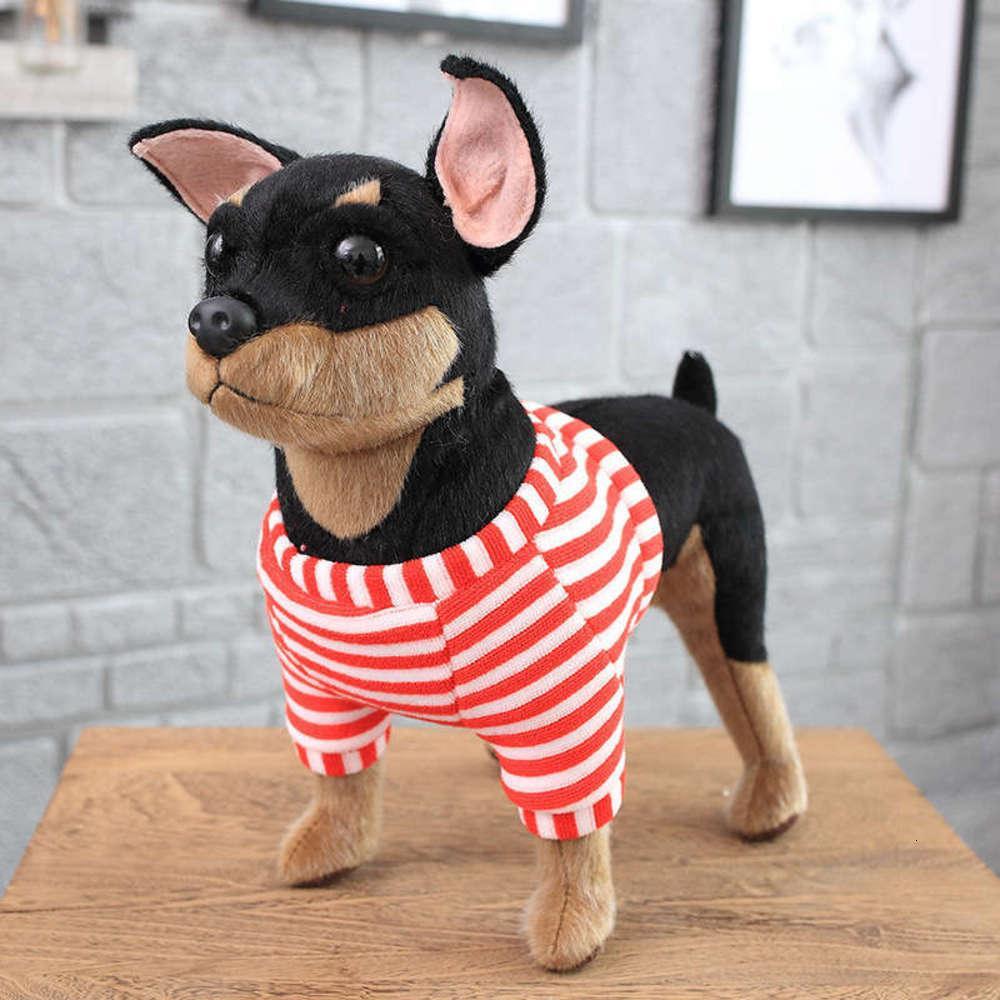Animaux en peluche étouffés Puissance physique Toy jouet Mink Drs Simulation de chien Torolfight Chihuahua Golden Sand Poupée
