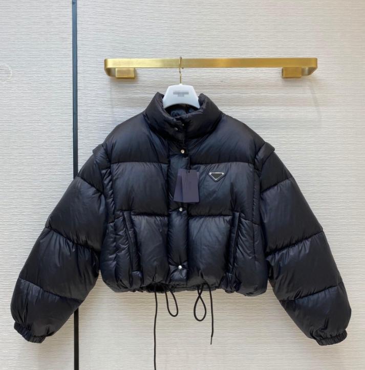 【code:OCTEU03】Chaqueta de diseño de invierno para mujeres en las parkas con letras Lentejuelas de moda Chaquetas de moda abrigos ajustables Cintura Streetwear Alta calidad