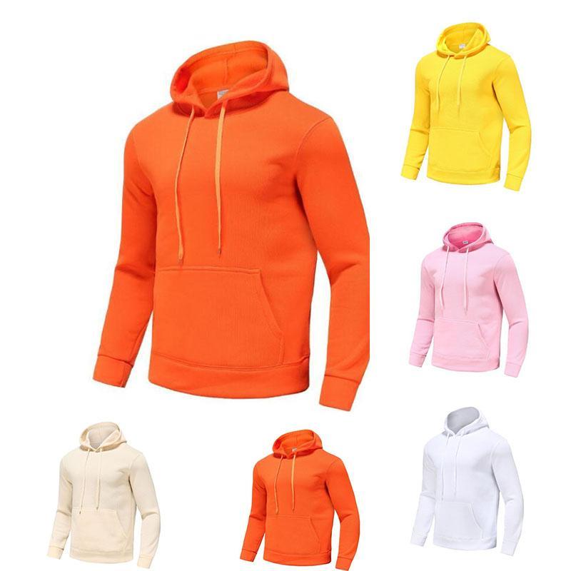 Brand Hoodie Pullover Мужчины и женщины Высокое Качество Легкая Спортивная одежда Флис Свитер Мода Повседневная уличная Стиль Размер S-3XL