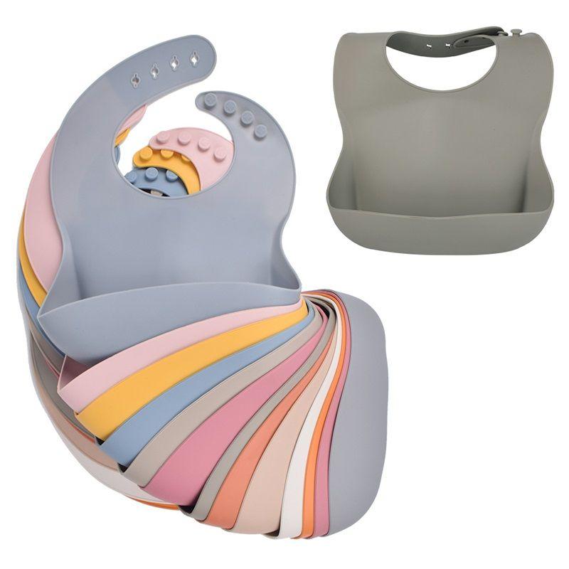 Bebek Silikon Önlük Bebek Önlükler Çocuk Silikon Önlük Bebek Tükürük Pirinç Cep Anne Bebek Ürünleri 1067 V2
