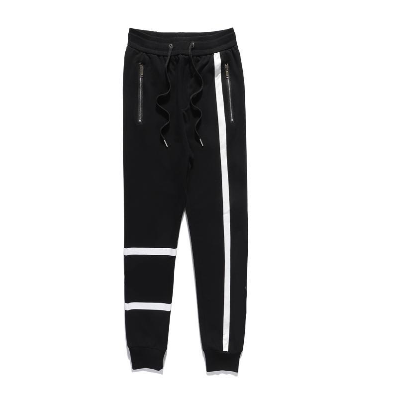 الرجال السراويل عارضة 21 وصول الكلاسيكية إلكتروني نمط طباعة بنطلون رجالي ربيع الخريف sweatpants جودة عالية الملابس