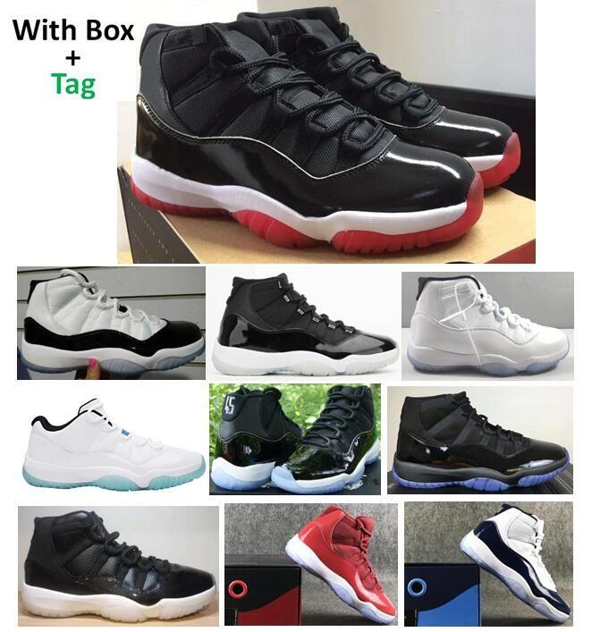Echte Kohlefaser 11 gezüchtet Jubiläum Concord 45 Space Jam Basketballschuhe Männer Frauen 11s Legend Blue Gym Rot 72-10 Top Qualität Sneakers