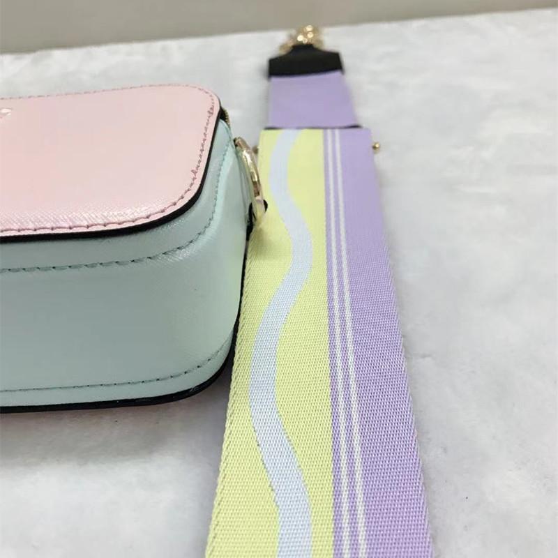 الكاميرا الصليب الجسم لقطة حقيبة السيدات حقيبة جلدية الكتف 2021 الفاخرة عالية الجودة الشهيرة العلامة التجارية مصمم المرأة رسول الأزياء حقائب