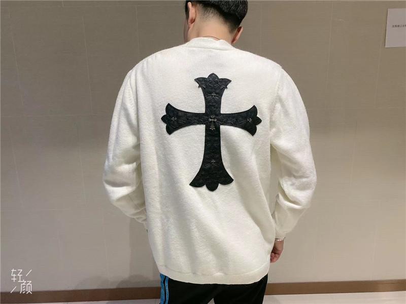 Chaqueta ocasional suelta y versátil en otoño invierno de 20 chaopai CH chaopai Charted Cardigan suéteres para hombres mujeres