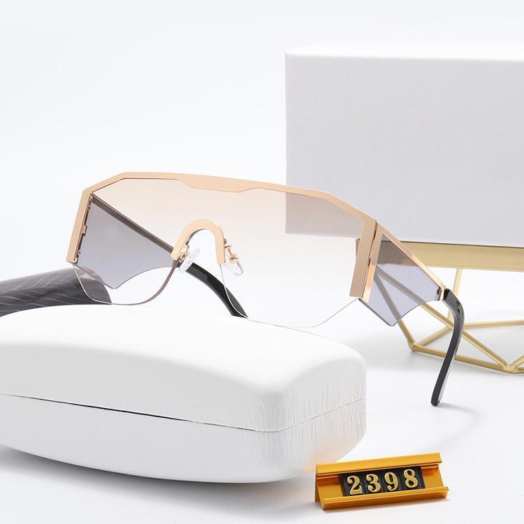 8 colori buona qualità moda classico occhiali da sole Atteggiamento occhiali da sole Occhiali da sole cornice oro quadrato telaio metallo stile vintage stile all'aperto occhiali classici con scatola