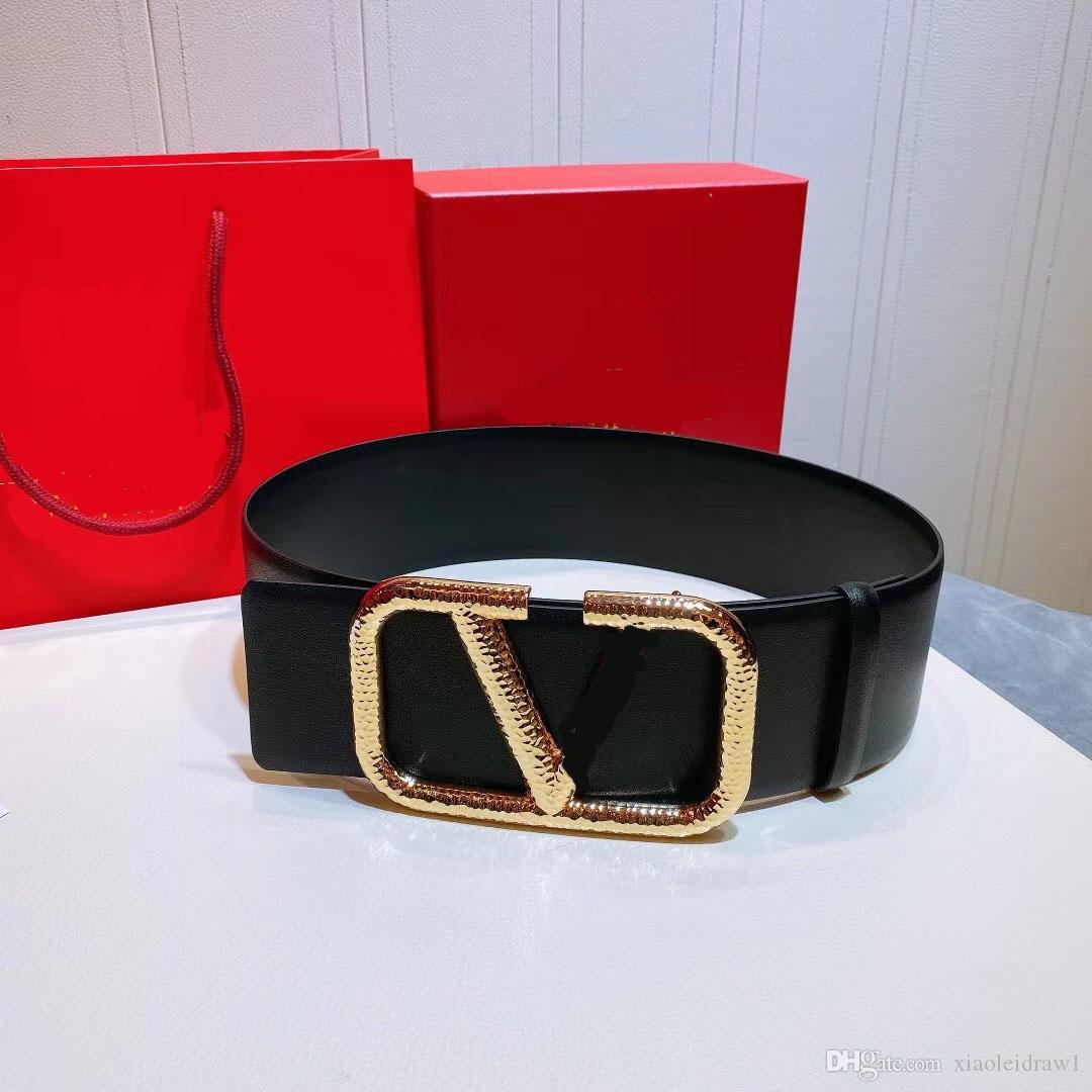 2021 cintura 4 cm e 7 cm moda donna LUSKURYS Designer Designer Cinture classiche, reali produzione in pelle, la fonte di fabbrica