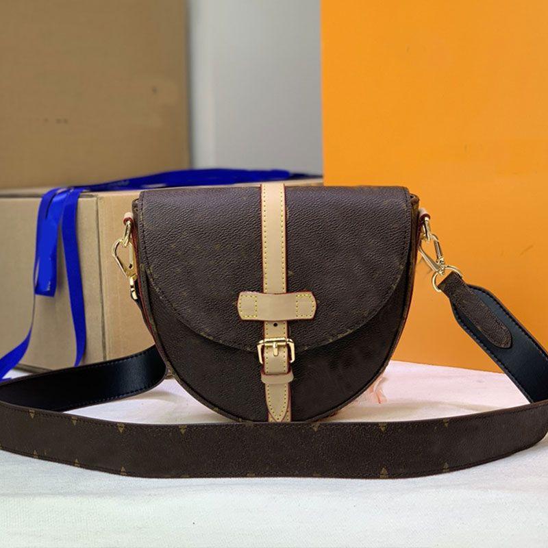 Saddle Bag Women Handbag Crossbody Bags Classic Fashion Letter Genuine Leather High Quality Hasp Handbags Purse