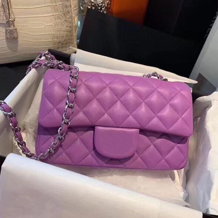 CF Bag Cluth Handbags Lamb Skin Wallet Designer Luxury Women Mujer Oro 2.55 Paquete femenino de cadena de plata al por mayor