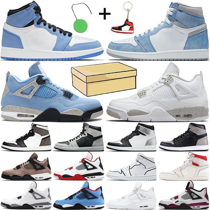 أحذية كرة السلة للرجال nike air retro jordan 1 jordan 4 1s Jumpman 4s 1 أحذية رياضية للرجال والنساء