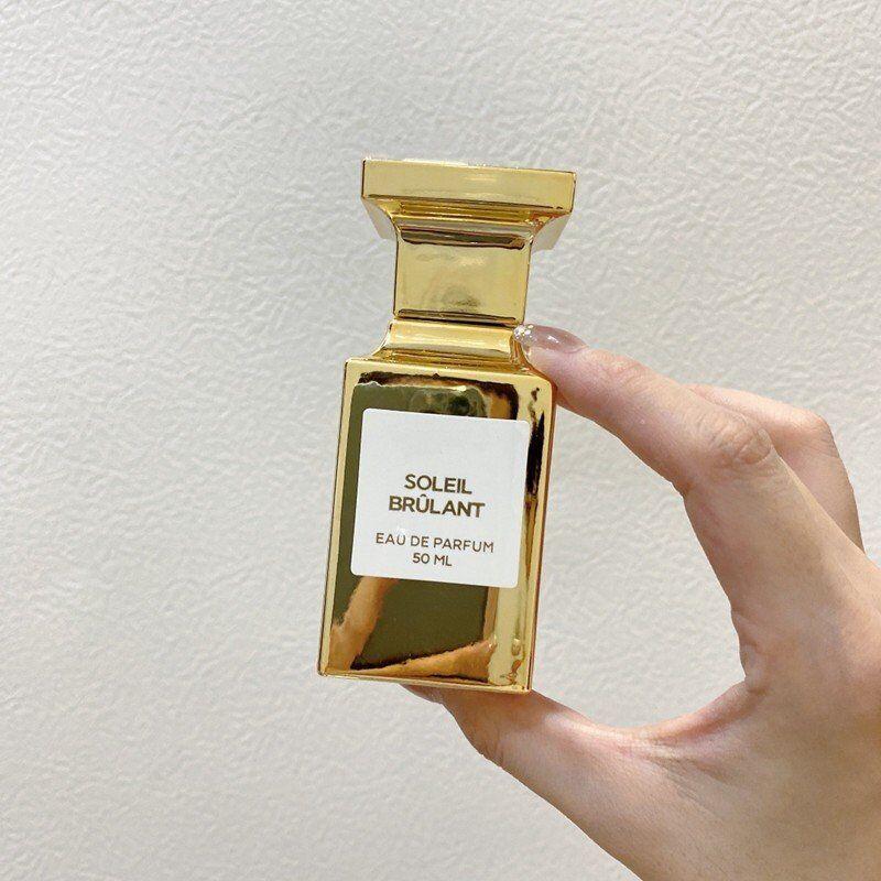 남성 여성 향수 우아한 모든 경기 고전적인 향수 솔레 Brulant 50ml Parfum 스프레이 향수 빠른 배달