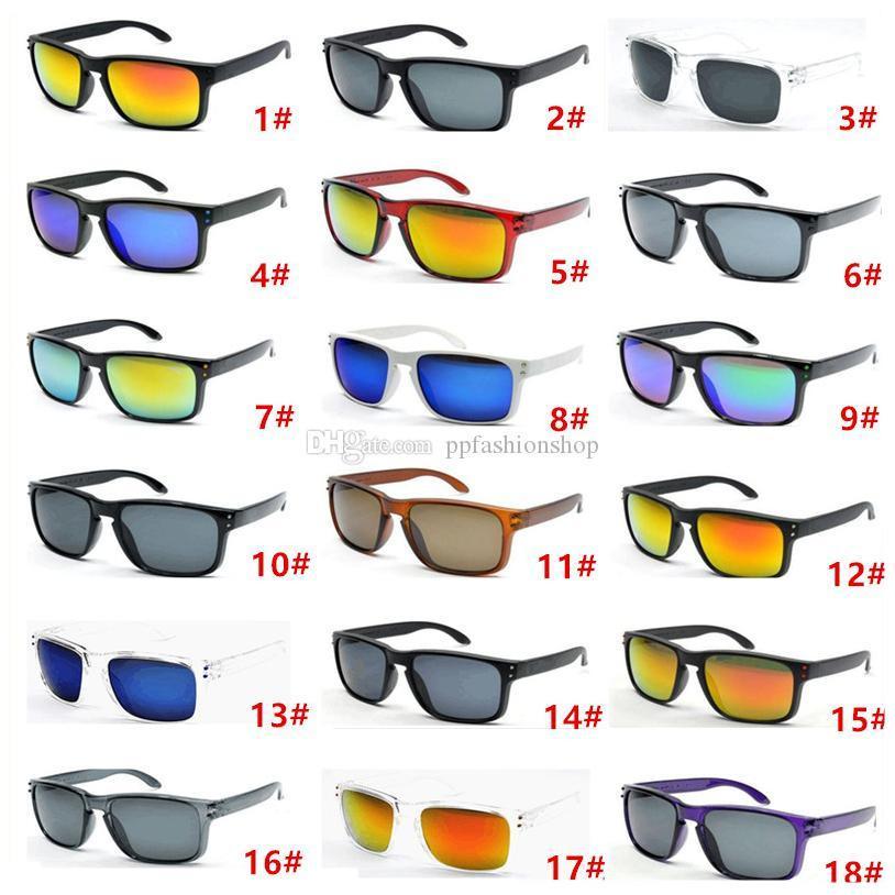 Hot Selling 10pcs Designer Sunglasses pour hommes Summer Shade UV400 Protection Sport Lunettes de soleil Hommes Sun Lunettes 18 couleurs