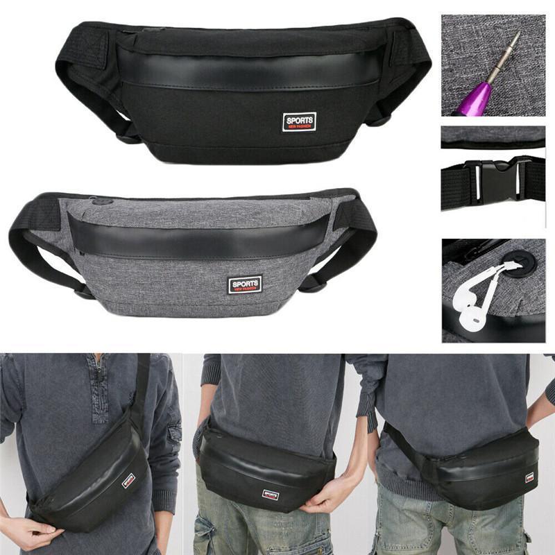 Noenname-null Herren Anti-Theft Männer Brust Messenger Sling Tasche Casual Schulter Kleine Crossbody Taschen Taillenpackungen