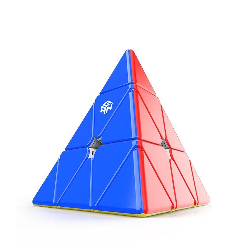 2021 أحدث غان المغناطيسي الهرم مكعب 3x3x3 ماجيك مكعب 3x3 كوبو mgaico محسن الأساسية لتحديد المواقع لغز سرعة المكعب