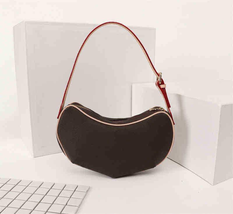 High Designer Luxus Handtaschen Geldbörsen Mittelalterliche Erbse unter Achselhöhlen Frauen Marke Stil Echtes Leder Umhängetaschen
