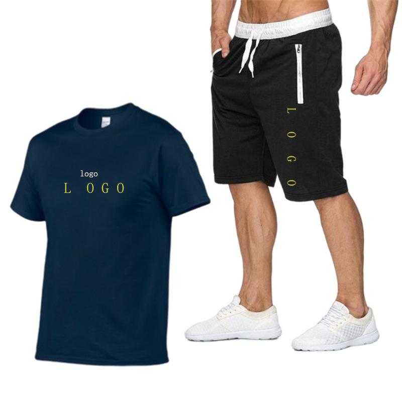 최고 품질 망 여름 tracksuit 홈 세트 티셔츠 짧은 바지 남자 캐주얼 두 조각 복장 티셔츠 반바지 12 색