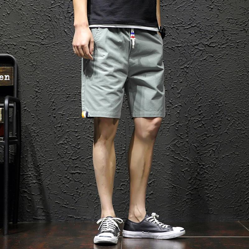 Summer New Cotton Casual Styl Styls Sport Shorts da uomo Capris Tide Brand Beach Pants