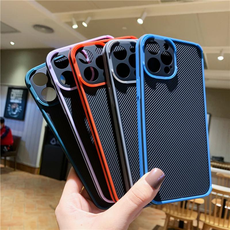 Custodie per telefono antiurto anti-drop astuto senza sottili per iPhone 12 11 Pro XS Max XR 6 7 8 PLUS Copertura protettiva per cellulare