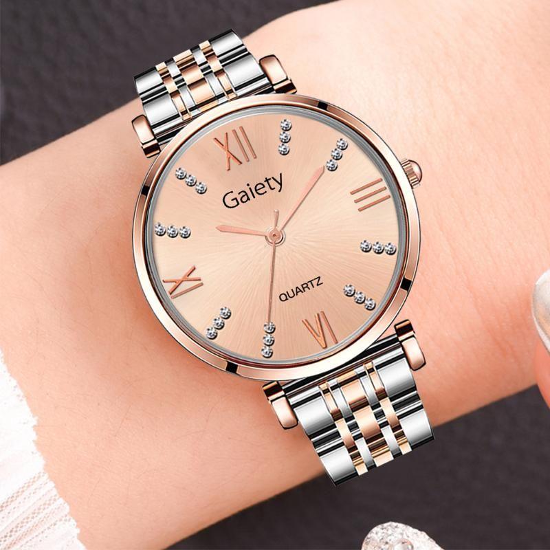Montre Femme 2021 Kadın İzle Gül Altın kadın Örgü Kemer Ultra-ince Moda Lüks Bilek Saatler Relojes Para Mujer Reloj Saatı
