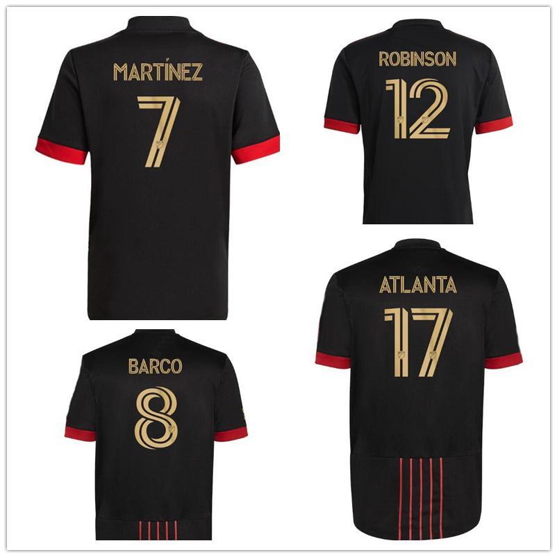 21-22 Atlanta United FC Almirón 10 Martinez 7 Nagbe 6 Barco 8 Villalba Customized Thai Quality sports jerseys,online shopping stores