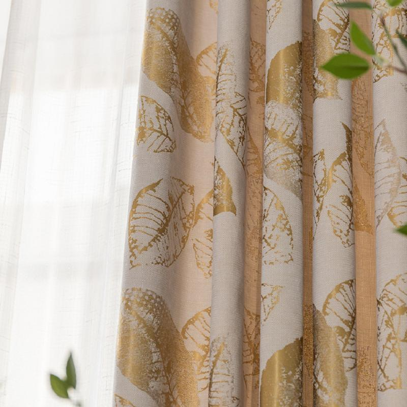 Vorhangdrapes lässt moderne minimalistische Mode-Jacquard-Vorhänge-Schlafzimmer