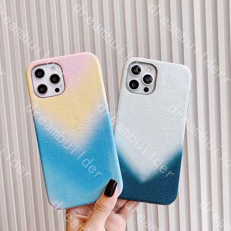 Casos de telefone de moda para iPhone 12 Pro Max 11 11PRO 7P 8P x XS XR XSMAX PU couro proteção caso Capa de desenhista com caixa