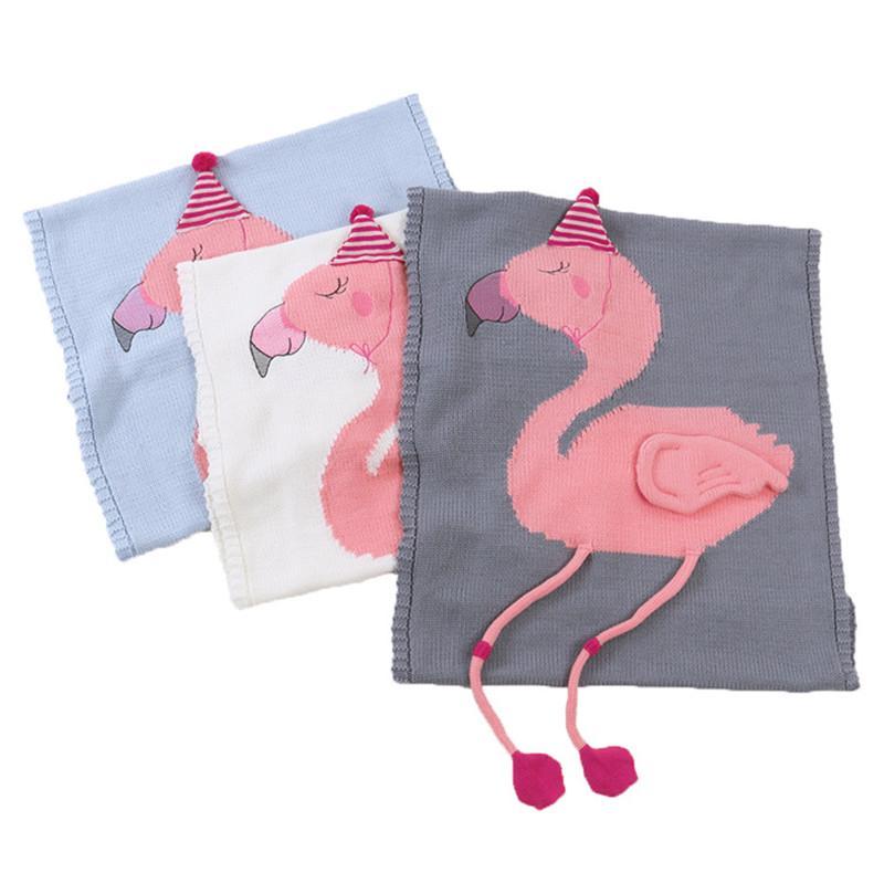 Instantáneo flamenco manta envoltura niños 3d tejido alfombra swaddling niños niñas colchonetas de playa niño aire acondicionado manta bebé fotografía bebé