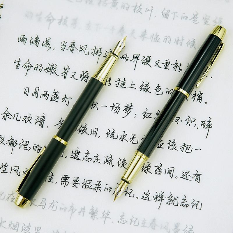 Exquisite Metal Im Ink Pen for Male and Female Business Office Students