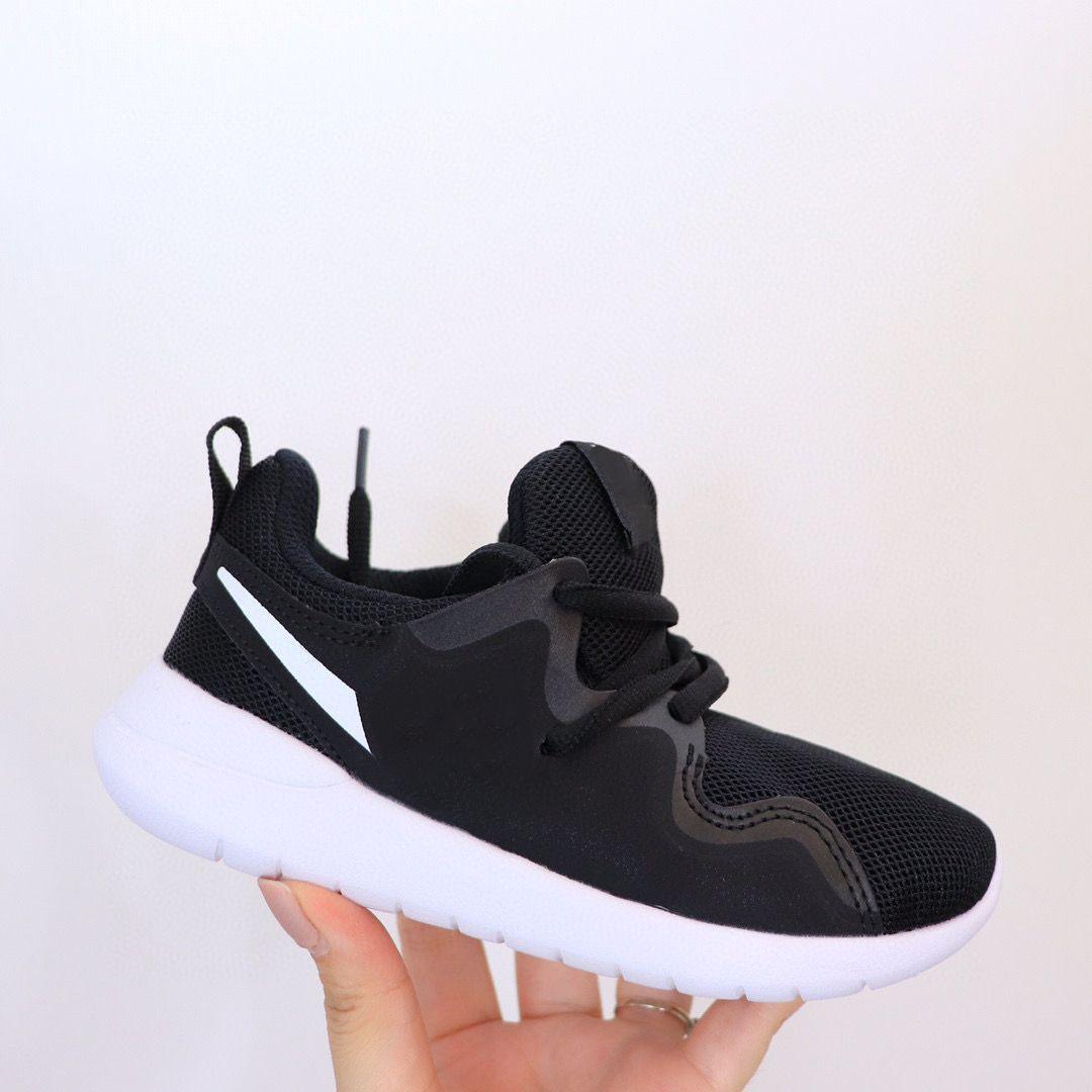 2021 Tessen Running Zapato Mayores Niños Malla Zapatillas de deporte Construcción Profundo Flex Grooves Moviéndose Naturalmente Negro Blanco Pink Blanco Niños Niños Fresco Gris