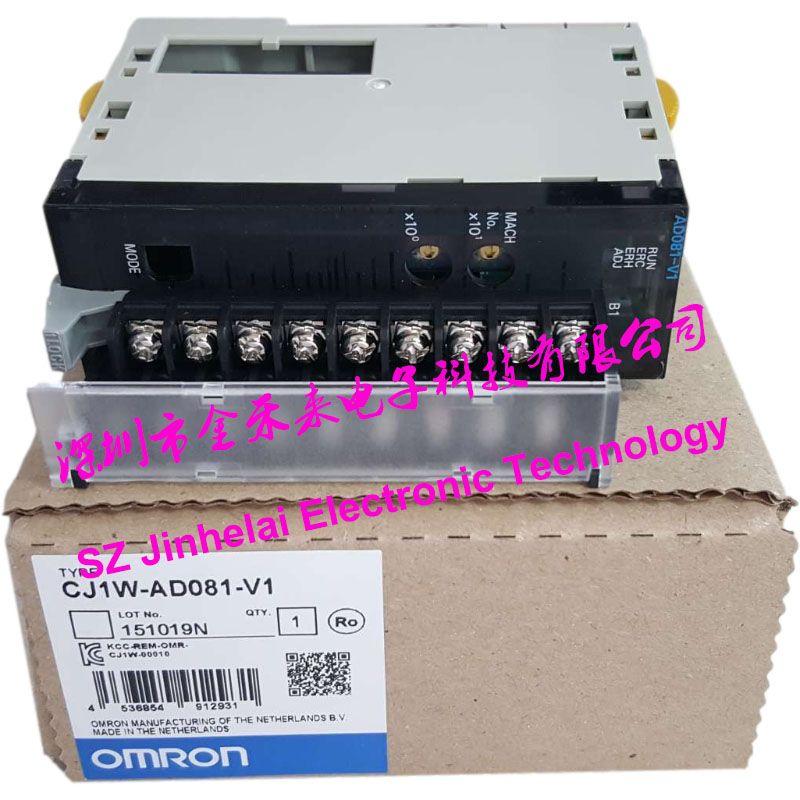 Original CJ1W-AD081-V1 OMRON Analog input unit