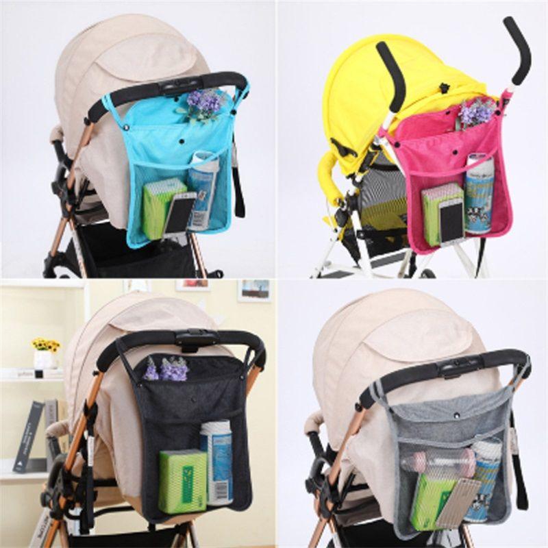 Bebek Arabası Çanta Bebek Arabası Asılı Net Çanta Net Bebek Şemsiye Depolama Saklama Çantası Evrensel 973 x2