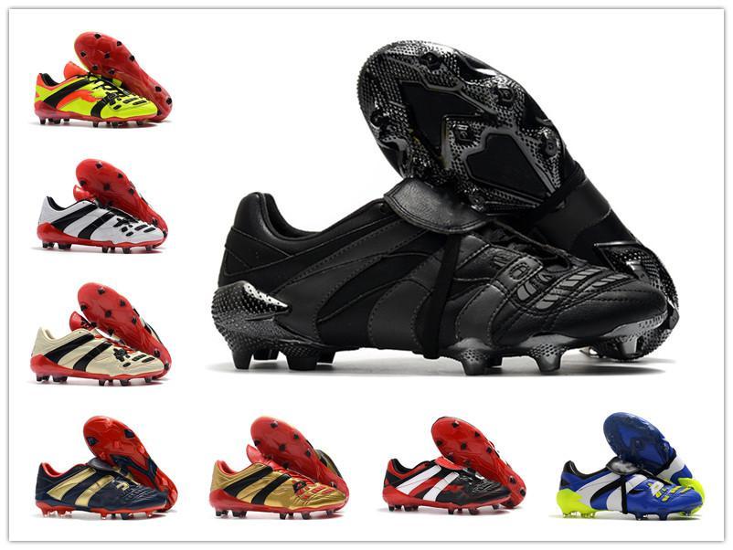 الأصلي كرة القدم المرابط المفترس مسرع كهرباء fg tr أحذية كرة القدم المفترس الدقة x بيكهام العشب في الهواء الطلق أحذية كرة القدم