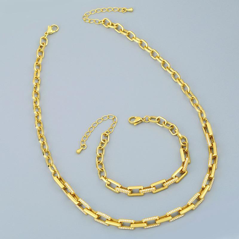 디자이너 크리 에이 티브 새로운 그물 레드 쿨윈 힙합 목걸이 여성 다이아몬드 두꺼운 체인 목걸이 NKR80