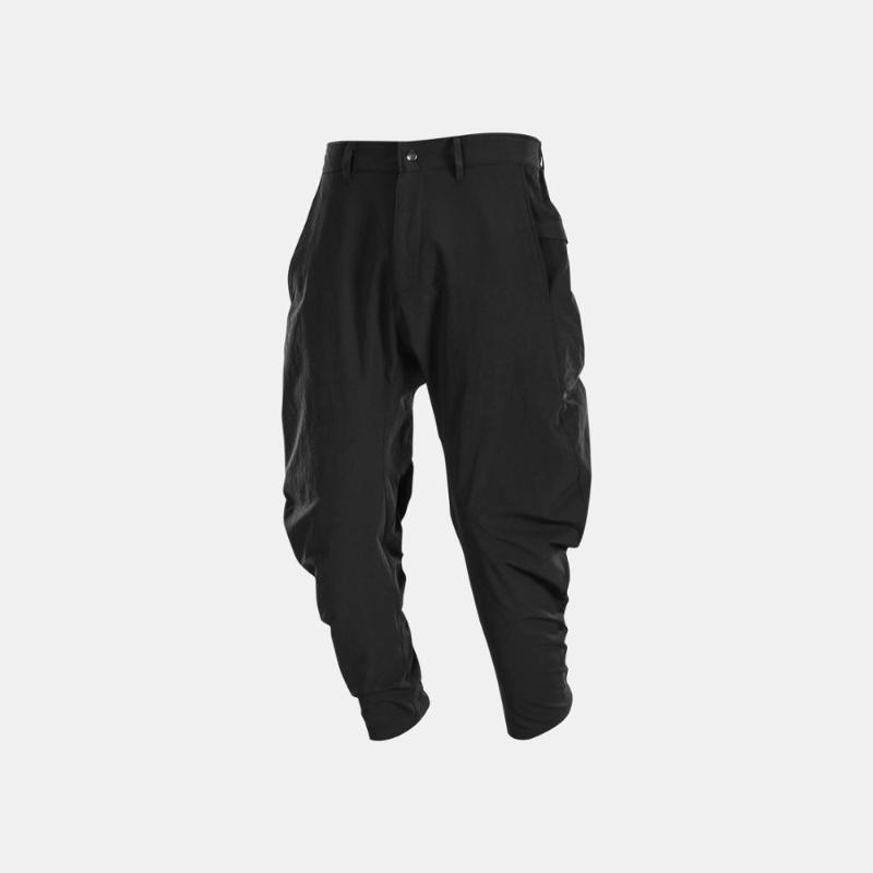 Nosucism 멀티 포켓 밑단 지퍼 바지 Techwear Ninjawear Streetwear 미학 남성용