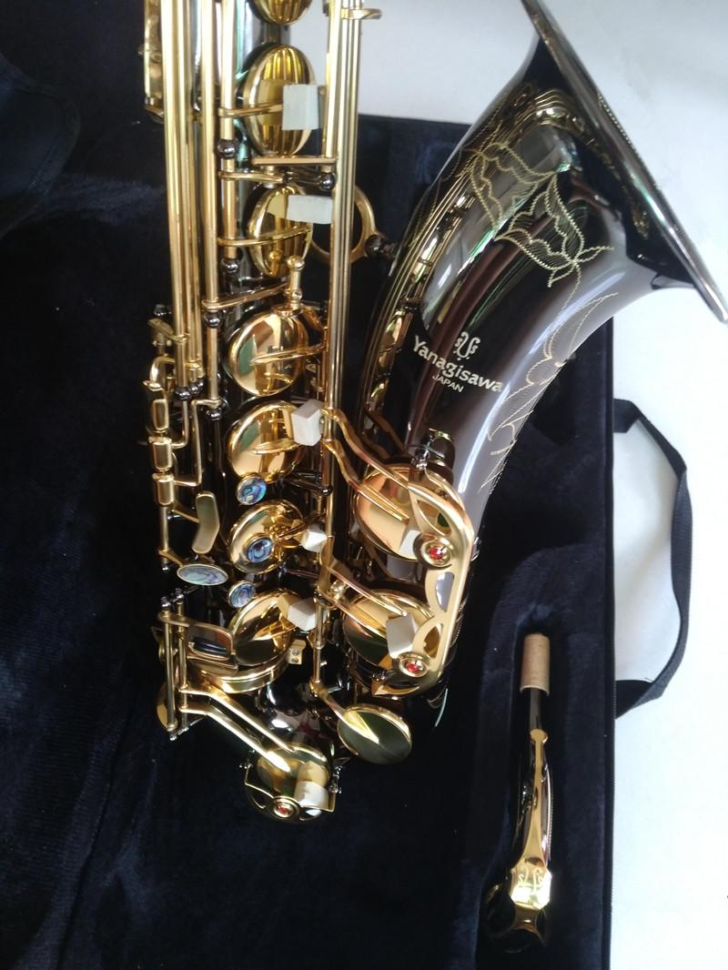 Giappone Yanagisawa T-992 Nuovo sassofono Tenor Sax BAX B SAX B Tenor Saxophone Playing Professionalmente Paragrafo Musica Musica Black Saxophone