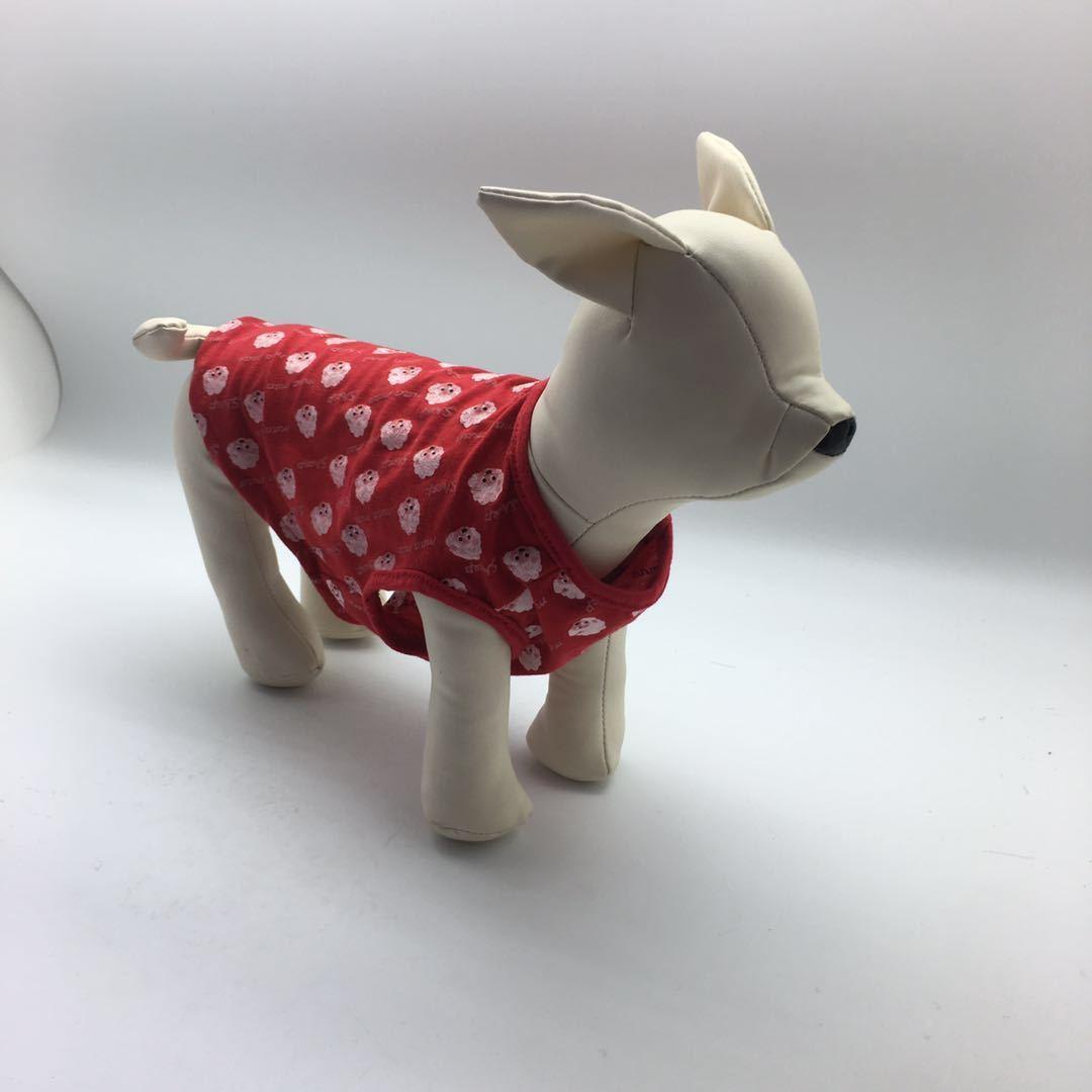 Sublimación reflector en blanco Nylon chaleco para perros mascotas ropa de malla transpirable ajustable camisa creativa camisa de verano TUXEDO Suministros para perros de mascotas personalizados