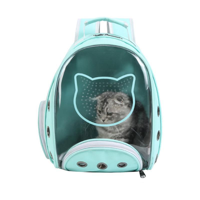 CAT рюкзак прозрачный перевозкая сумка для путешествий пространство для домашних животных транспортных сумки для кошек и маленьких собак носителей, ящики Дома
