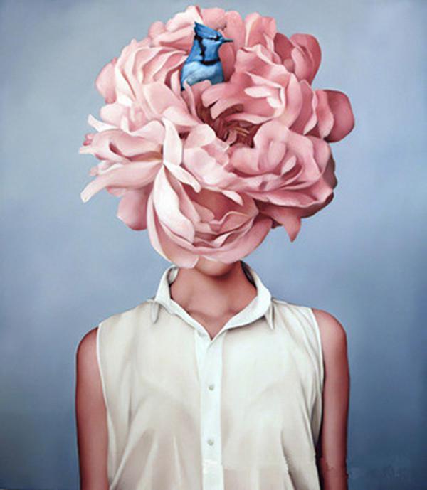 40x60 cm Vernice Abstract Modern Flowers Donne Donne di Pittura ad olio DIY Numero su tela Home Decor Figure Immagini regalo Ood6234