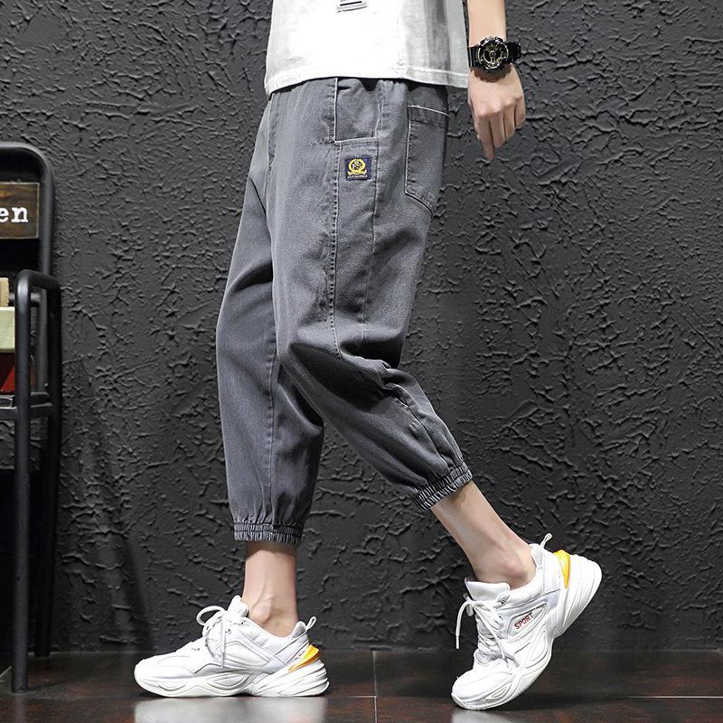 Mode printemps de printemps été été mince shorts capris lâche jeans déconnectés branchée marque 7